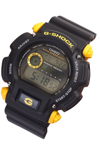 цена на Часы CASIO DW-9052-1C9 1659 (Черный)
