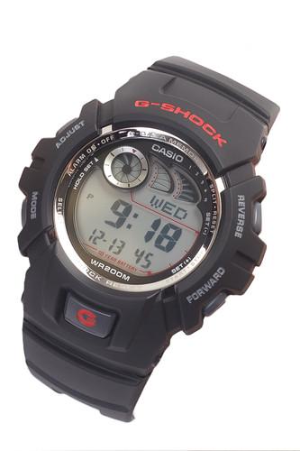 Часы CASIO G-2900F-1V 2548 (Черный) casio g 9000 1v черный