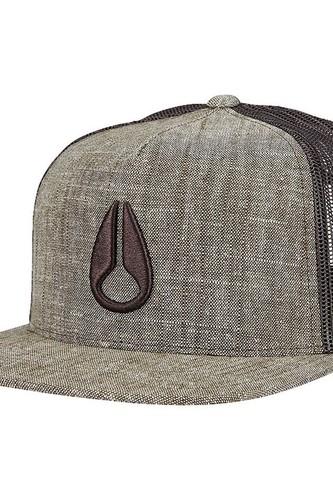 Кепка NIXON Deep Down Trucker Hat (TAN) цена 2017