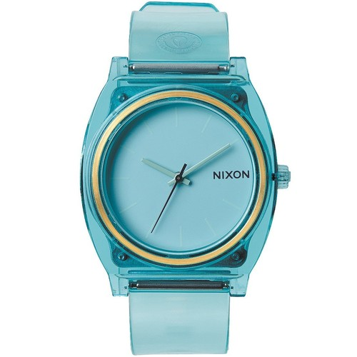 Часы Nixon Time Teller P Translucent Collection A/s Translucent O/s (TRANSLUCENT MINT) odm stylish led dot matrix fashion watch with weekday display translucent pink