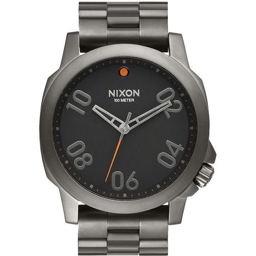 Часы NIXON RANGER 45 SS (GUNMETAL/BLACK) цена и фото