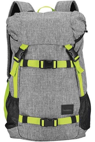 Рюкзак NIXON LANDLOCK BACKPACK SE (Heather Gray/Lime)