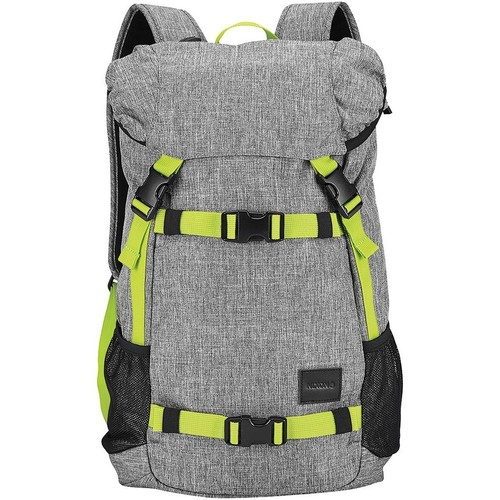 цена Рюкзак NIXON LANDLOCK BACKPACK SE (Heather Gray/Lime) онлайн в 2017 году