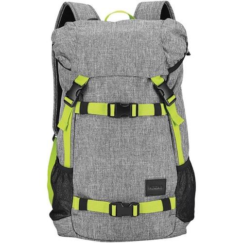 Рюкзак NIXON LANDLOCK BACKPACK SE (Heather Gray/Lime) цена
