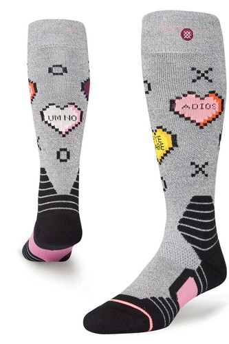 Носки STANCE SNOW CANDY (GREY) носки низкие stance athletic fusion richter low grey