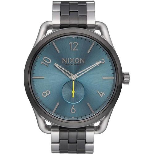 Часы NIXON C45 SS (GUNMETAL/AQUA SUNRAY) цена и фото