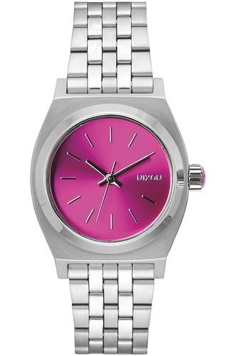 Часы NIXON MEDIUM TIME TELLER (Pink Sunray - B4BC) часы nixon newton digital pink