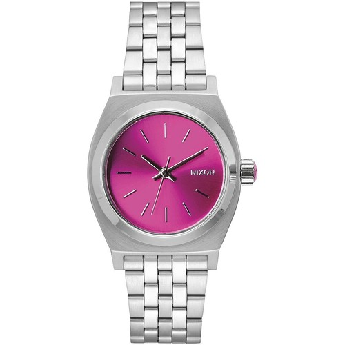 Часы NIXON MEDIUM TIME TELLER (Pink Sunray - B4BC) часы nixon sentry ss blue sunray