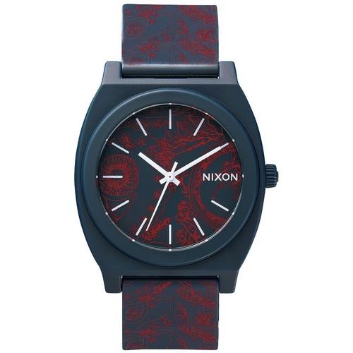 Часы NIXON TIME TELLER P PAISLEY (Navy/Paisley) цена