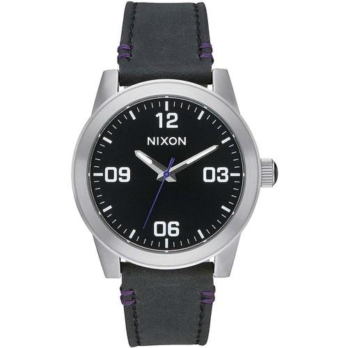Часы NIXON G.I. LEATHER (BLACK) часы nixon 38 20 leather black hot pink