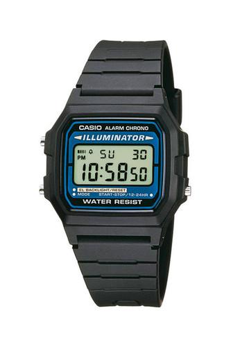 лучшая цена Часы CASIO F-105W-1A 1257 (Черный)