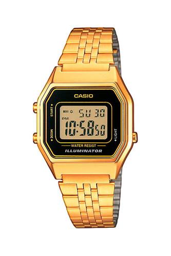 Часы CASIO LA680WEGA-1E 3284 (Золотой) часы casio la680wega 1e 3284 золотой