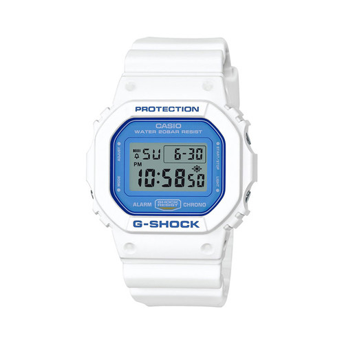 Часы CASIO DW-5600WB-7E 1545 (Белый) casio dw d5600bw 7e