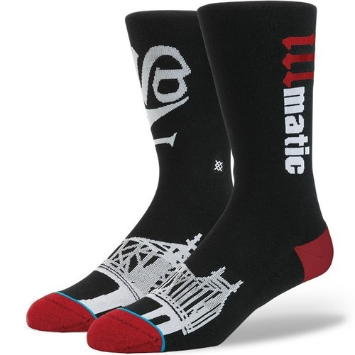 цены на Носки STANCE ANTHEM LEGENDS ILLMATIC (BLACK)  в интернет-магазинах