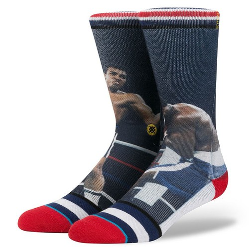 Носки STANCE ANTHEM LEGENDS THRILLA IN MANILLA (NAVY) носки stance anthem trust me multi