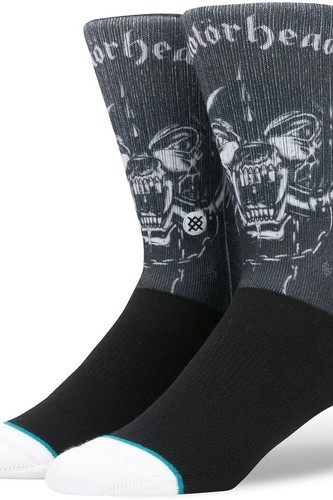 Носки STANCE FOUNDATION MOTORHEAD (BLACK) носки stance blue foundation bushleague grey