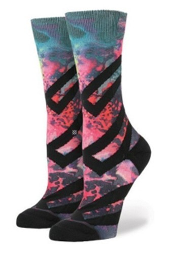 Носки STANCE BLUE WOMEN ALIEN ACID (MULTI)