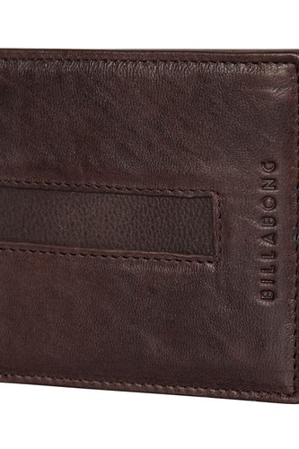 Кошелек BILLABONG EMPIRE SNAP WALLET (CHOC) кошелек billabong dimension wallet navy heather