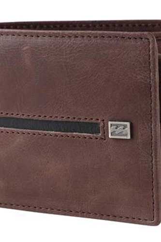 Кошелек BILLABONG HIGHWAY WALLET (CHOC) худи billabong billabong bi009emefex9