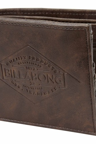 Кошелек BILLABONG BRONSON (CHOCOLATE) худи billabong billabong bi009emefex9