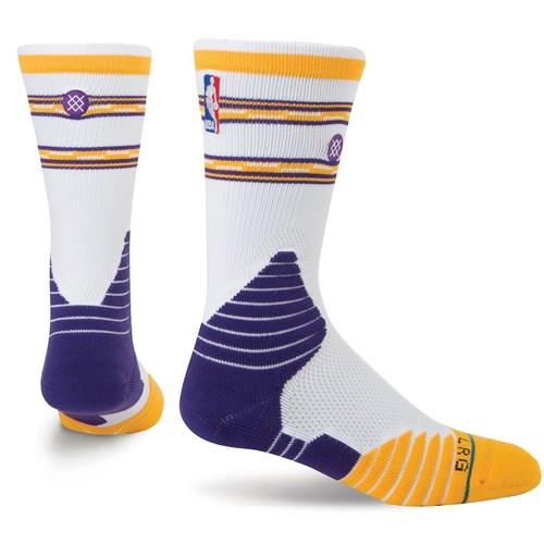 Носки STANCE NBA ONCOURT CORE CREW LAKERS (WHITE) пудра yllozure yllozure yl001lwenly1