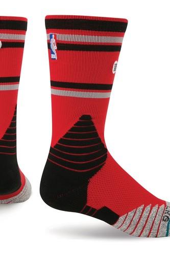 цена на Носки STANCE NBA ONCOURT CORE CREW RAPTORS (RED)