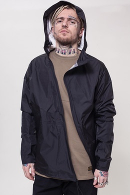Куртка CROOKS & CASTLES C.N.C Hooded Parka Black фото