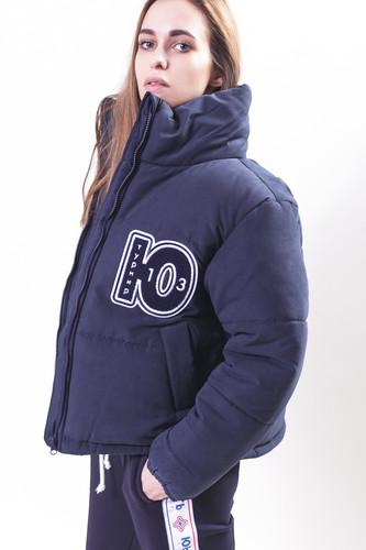 Куртка-дутик ЮНОСТЬ Турнир Команда18 женская (Темно-Синий, M)