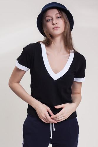 Футболка ЮНОСТЬ Турнир Чирлидер'17 женская (Черный, L) футболка юность заказать