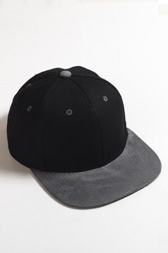 Бейсболка TRUESPIN 2 Tone Blank Next Level (Black/Grey, O/S) шапка truespin abc fw15 black black w