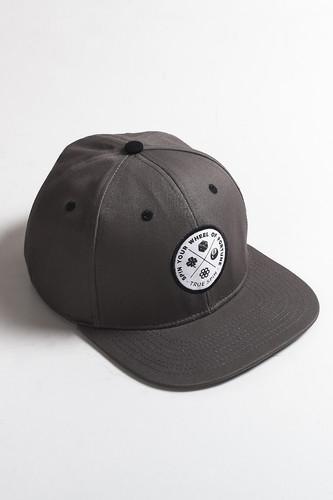 Бейсболка TRUESPIN Lucky (Grey, O/S) бейсболка truespin focused gorilla brown dark grey o s