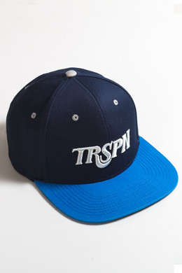 Бейсболка TRUESPIN Typo Team Navy/Blue фото