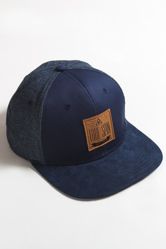 Бейсболка TRUESPIN New Velvet (Blue, O/S) бейсболка truespin 2 tone blank trucker cap heather grey white o s