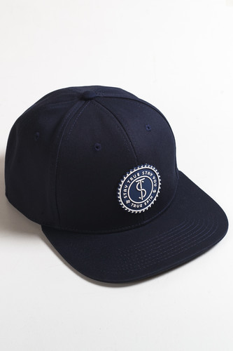 Бейсболка TRUESPIN Taskulap (Navy, O/S) бейсболка truespin 2 tone blank trucker cap heather grey white o s