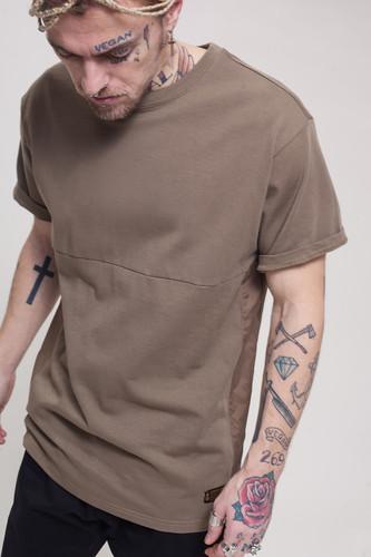 Футболка CROOKS & CASTLES C.N.C Crew T-Shirt (Raw Umber, XL) цена