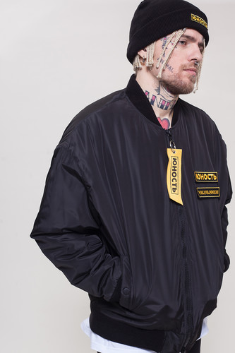 Куртка ЮНОСТЬ СМП - Лого (Черный, XL)