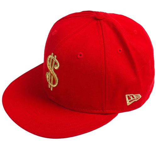 Бейсболка NEW ERA Hustlers (Red, 7 3/8)