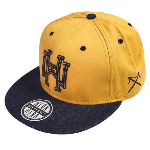 Бейсболка NEW ERA Wearhead (Yellow, O/S) цена