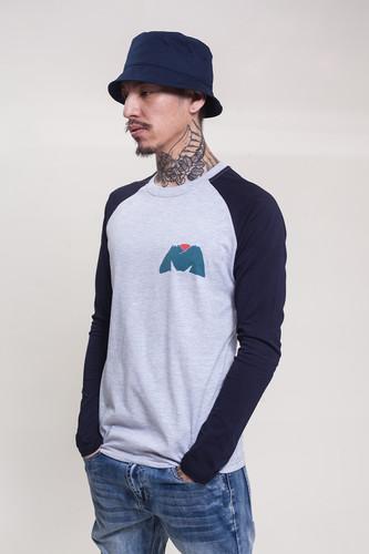 Лонгслив МЕЧ Lg M Turtle (Серый/Синий, L) бенедикт р хризантема и меч модели японской культуры