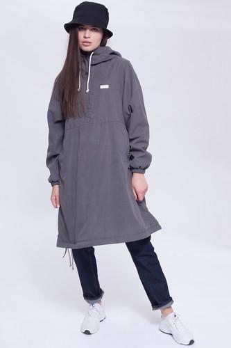 Куртка-Анорак CODERED Mob Long женская (Темно-Серый Микрофибра, M)