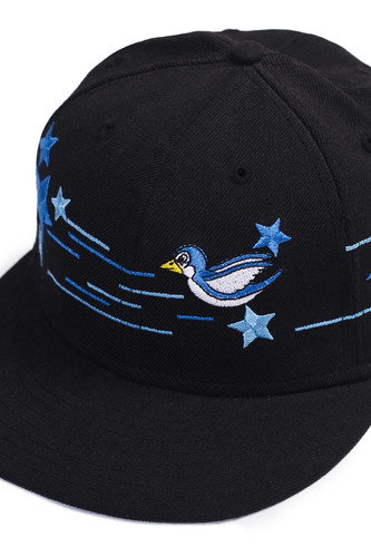 Бейсболка NEW ERA Stars & Birds (Black, 7 1/4)