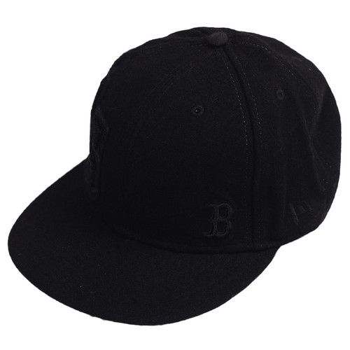Бейсболка NEW ERA Wool (Black-BOS, 7 5/8) бейсболка mishka reptilian keep watch new era 5950 black 7 5 8