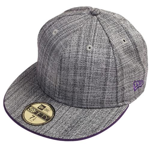 Бейсболка NEW ERA Classic (Grey/Purple, 7 1/4)