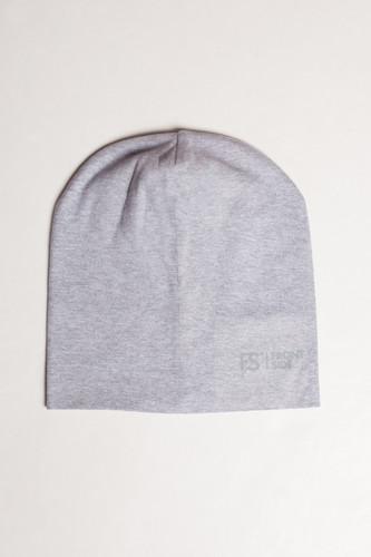 Шапка FRONT SIDE Jersey (Серый Меланж)