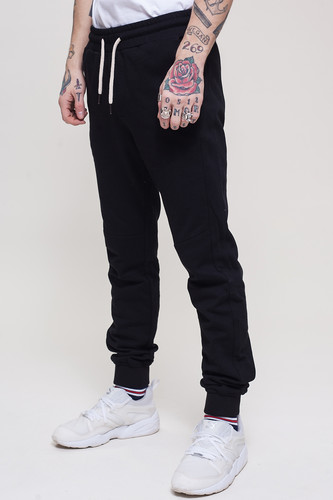 Брюки TRUESPIN Sweat Jogger Pants Black фото 5