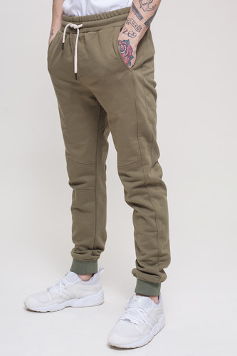 Брюки TRUESPIN Sweat Jogger Pants Khaki фото 7