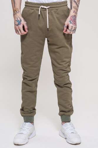 Брюки TRUESPIN Sweat Jogger Pants Khaki фото 8