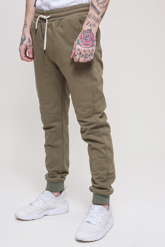 Брюки TRUESPIN Sweat Jogger Pants Khaki фото 9