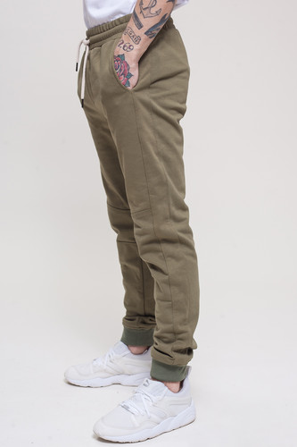 Брюки TRUESPIN Sweat Jogger Pants Khaki фото 10