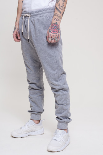 Брюки TRUESPIN Sweat Jogger Pants Grey Melange фото 6